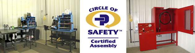 Circle of Safety™ certified assembly